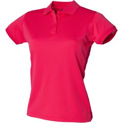Vêtements Femme Polos manches courtes Henbury Coolplus Rose vif