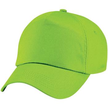 Accessoires textile Enfant Casquettes Beechfield Baseball Vert citron