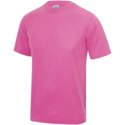 Vêtements Enfant T-shirts manches courtes Just Cool JC01J Rose électrique