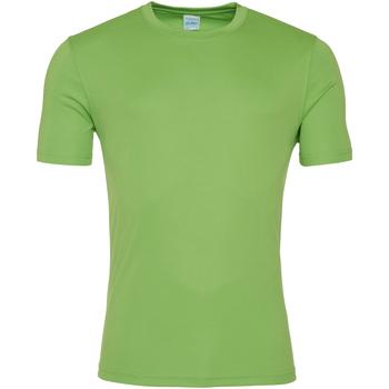 Vêtements Homme T-shirts manches courtes Awdis JC020 Vert citron