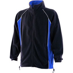 Vêtements Homme Polaires Finden & Hales LV550 Bleu marine/Bleu roi/Blanc