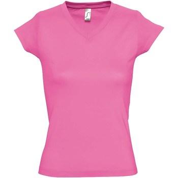 Vêtements Femme T-shirts manches courtes Sols Moon Rose
