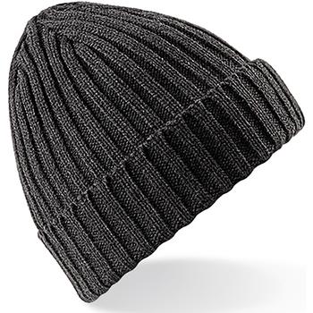 Accessoires textile Bonnets Beechfield Beanie Gris foncé
