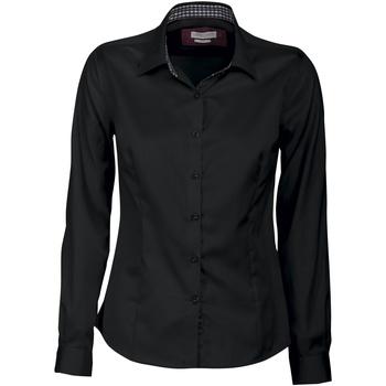 Vêtements Femme Chemises / Chemisiers J Harvest & Frost JF006 Noir/Rouge