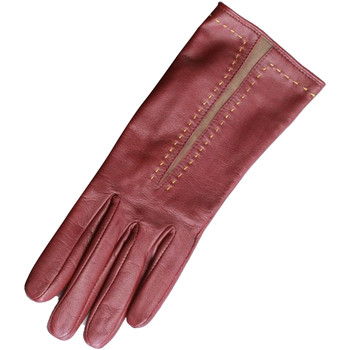 Accessoires textile Femme Gants Eastern Counties Leather Contrast Rouge/ Taupe