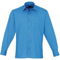 Vêtements Homme Chemises manches longues Premier PR200 Saphir