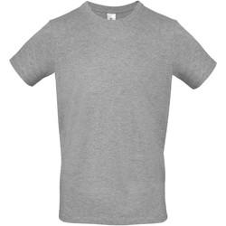 Vêtements Homme T-shirts manches courtes B And C E150 Gris chiné