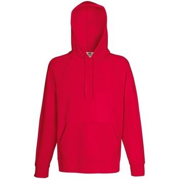 Vêtements Homme Sweats Fruit Of The Loom Lightweight Rouge