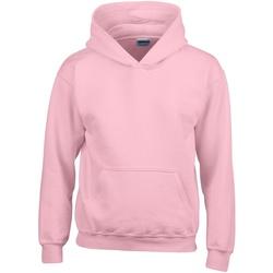 Vêtements Enfant Sweats Gildan 18500B Rose clair