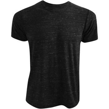 Vêtements T-shirts manches courtes Bella + Canvas CA3650 Noir marbré