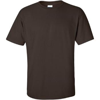 Vêtements Homme T-shirts manches courtes Gildan Ultra Chocolat noir