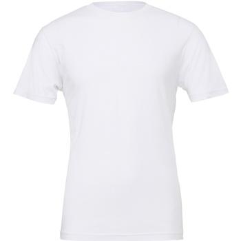 Vêtements T-shirts manches courtes Bella + Canvas Jersey Blanc