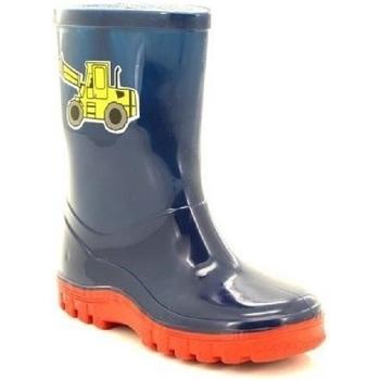 Chaussures Enfant Bottes de pluie Stormwells Puddle Bleu marine