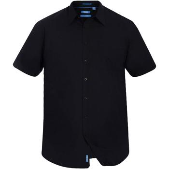 Vêtements Homme Chemises manches courtes Duke Classic Noir