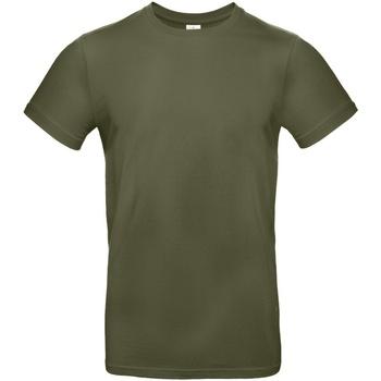 Vêtements Homme T-shirts manches courtes B And C E190 Kaki