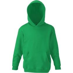 Vêtements Enfant Sweats Fruit Of The Loom SS273 Vert tendre