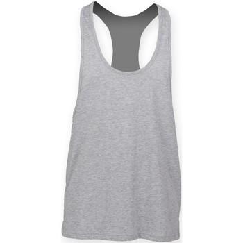 Vêtements Homme Débardeurs / T-shirts sans manche Skinni Fit SF236 Gris