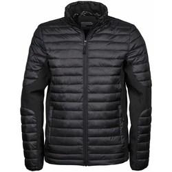 Vêtements Homme Doudounes Tee Jays Crossover Noir/Noir
