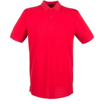 Vêtements Homme Polos manches courtes Henbury HB101 Rouge classique