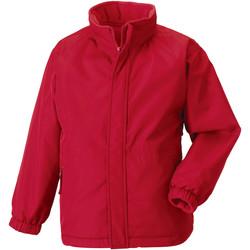 Vêtements Enfant Blousons Jerzees Schoolgear Showerproof Rouge