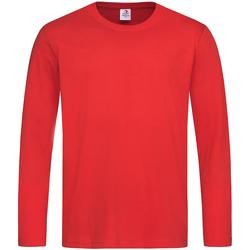 Vêtements Homme T-shirts manches longues Stedman Classics Rouge