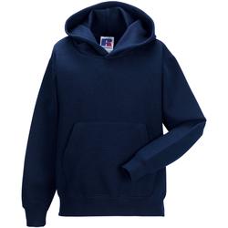 Vêtements Enfant Sweats Jerzees Schoolwear Hooded Bleu marine