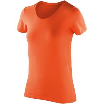Vêtements Femme T-shirts manches courtes Spiro Softex Orange