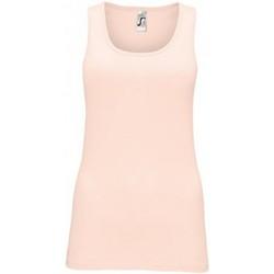 Vêtements Femme Débardeurs / T-shirts sans manche Sols Jane rose creme