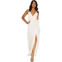 Vêtements Femme Robes longues Little Mistress Plunge Nude