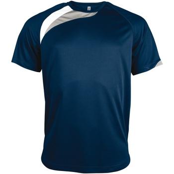 Vêtements Homme T-shirts manches courtes Kariban Proact Proact Bleu marine/Blanc/Gris