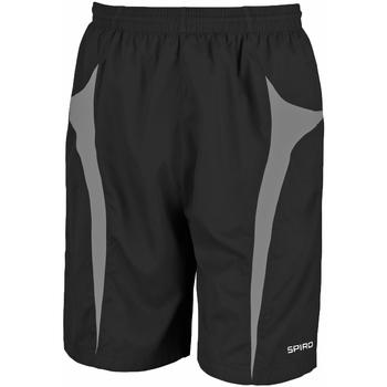 Vêtements Homme Shorts / Bermudas Spiro S184X Noir/Gris