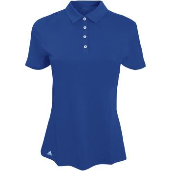 Vêtements Femme Polos manches courtes adidas Originals AD029 Bleu