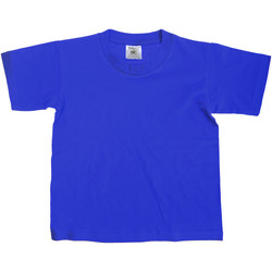 Vêtements Enfant T-shirts manches courtes B And C Exact 150 Bleu royal