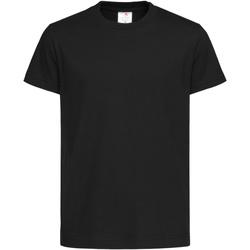 Vêtements Enfant T-shirts manches courtes Stedman Organic Noir