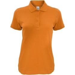 Vêtements Femme Polos manches courtes B And C Safran Orange