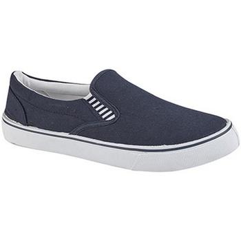 Chaussures Garçon Slip ons Dek Gusset Bleu marine