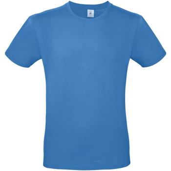 Vêtements Homme T-shirts manches courtes B And C TU01T Bleu azur