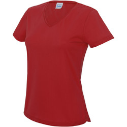 Vêtements Femme T-shirts manches courtes Awdis Girlie Rouge feu