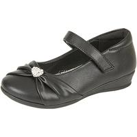 Chaussures Fille Ballerines / babies Us Brass Diamante Noir mat