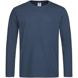 Vêtements Homme T-shirts manches longues Stedman Comfort Bleu marine