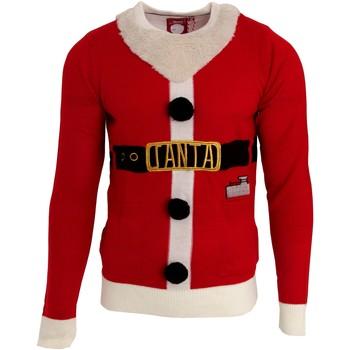 Vêtements Homme Pulls Brave Soul Christmas Rouge / blanc