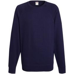 Vêtements Homme Sweats Fruit Of The Loom 62138 Bleu marine profond