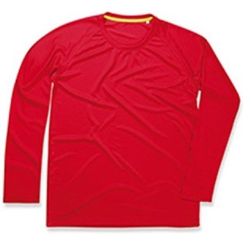 Vêtements Homme T-shirts manches longues Stedman Active Rouge