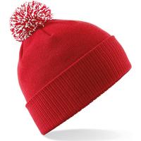 Accessoires textile Fille Bonnets Beechfield Snowstar Rouge / blanc