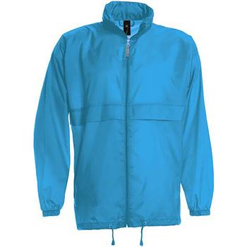 Vêtements Homme Coupes vent B And C Sirocco Bleu ciel