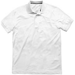 Vêtements Homme Polos manches courtes Stedman Pique Blanc