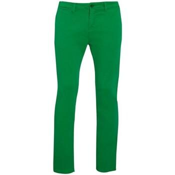 Vêtements Homme Chinos / Carrots Sols 01424 Vert tendre