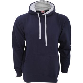Vêtements Homme Sweats Fdm Contrast Bleu marine/Gris chiné