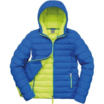 Vêtements Femme Doudounes Result Snowbird Océan/Vert citron