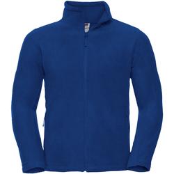 Vêtements Homme Polaires Russell Jerzees Colours Veste polaire à fermeture zippée BC575 Bleu roi vif